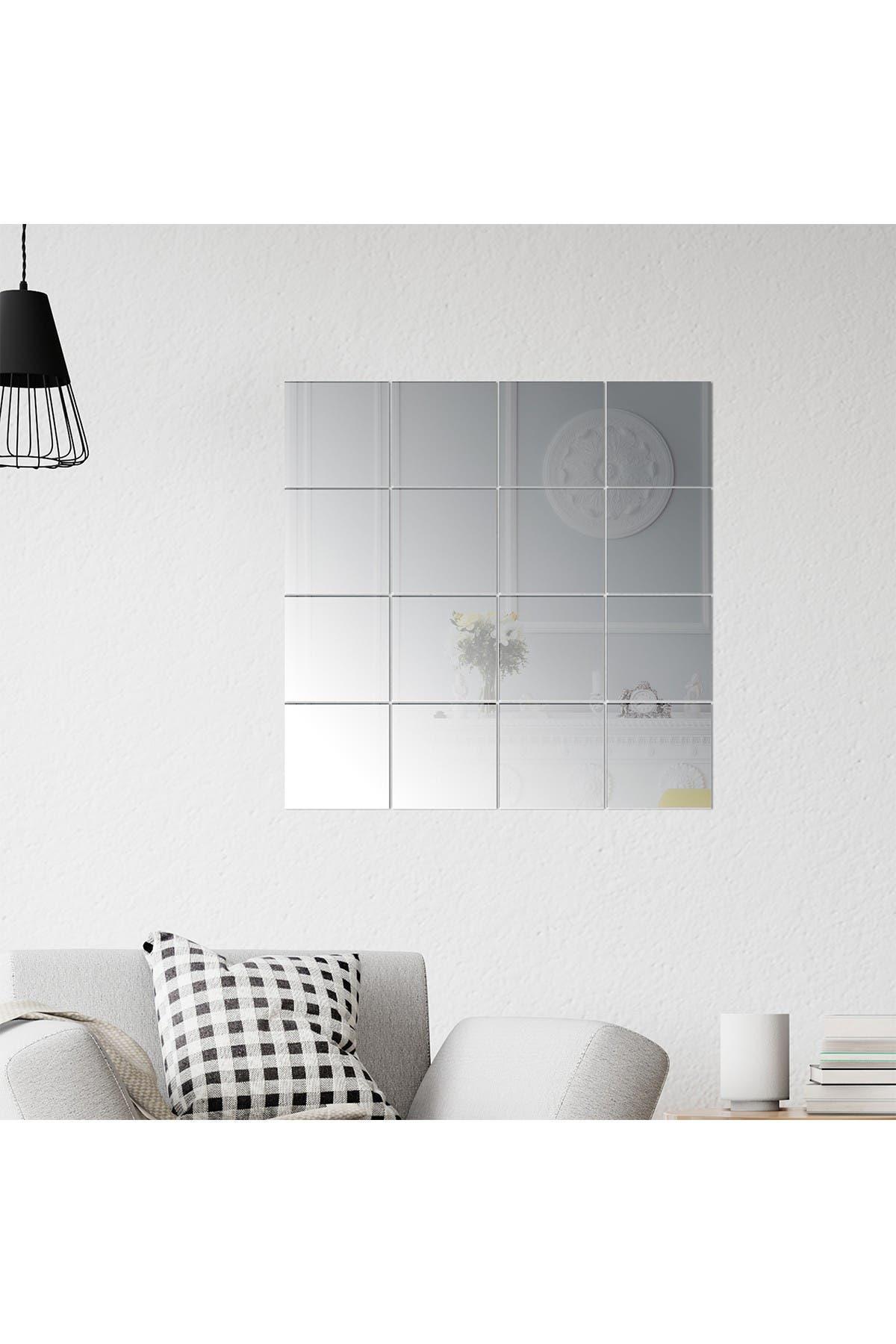 Image of WalPlus Square Mirror - 16 piece set x 4 Packs