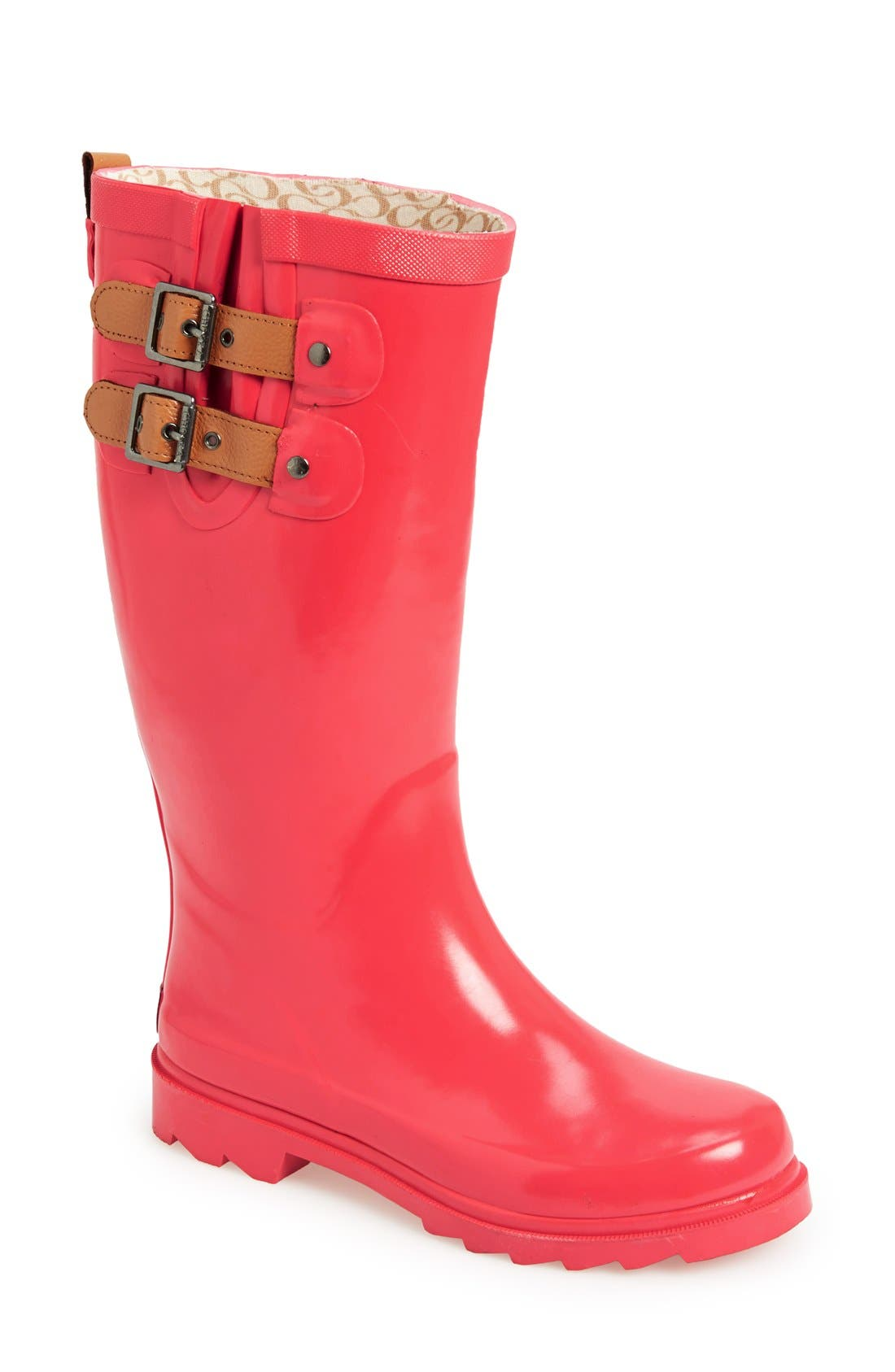 ,                             'Top Solid' Rain Boot,                             Main thumbnail 133, color,                             661