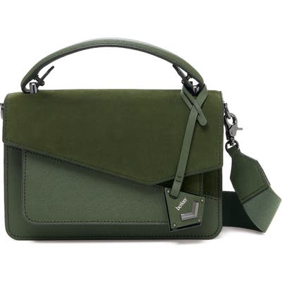 Botkier Cobble Hill Leather Crossbody Bag - Green