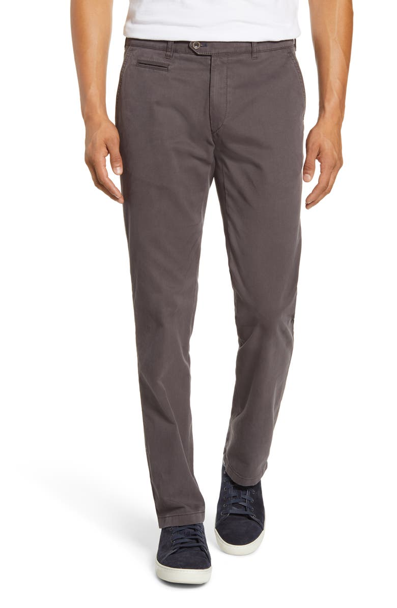 BRAX Everest Straight Leg Stretch Chinos, Main, color, TAUPE