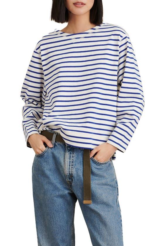 ALEX MILL Shirts LAKESIDE STRIPE CREWNECK TOP