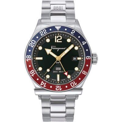 Salvatore Ferragamo 1901 Sport Bracelet Watch, 4m