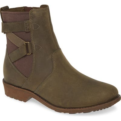 Teva Ellery Waterproof Bootie, Green