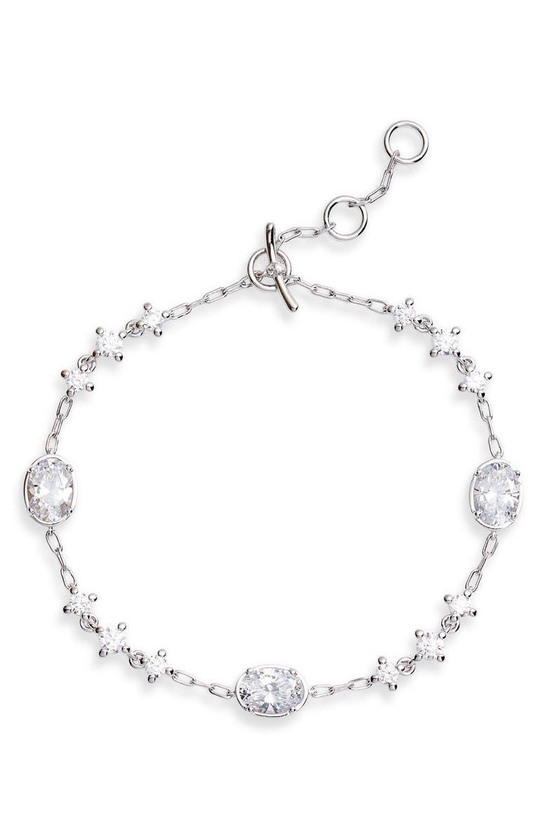 NADRI Issa Cubic Zirconia Bracelet, Main, color, 040