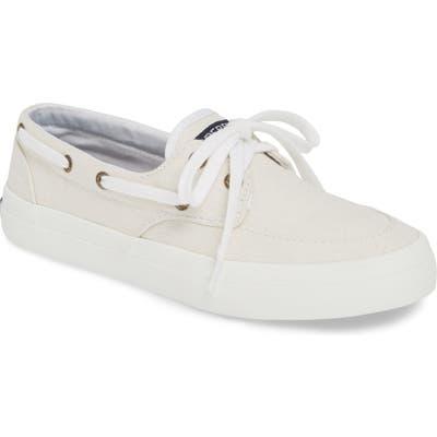Sperry Crest Boat Sneaker, White