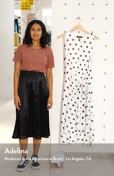 Polka Dot Sleeveless Midi Dress, sales video thumbnail