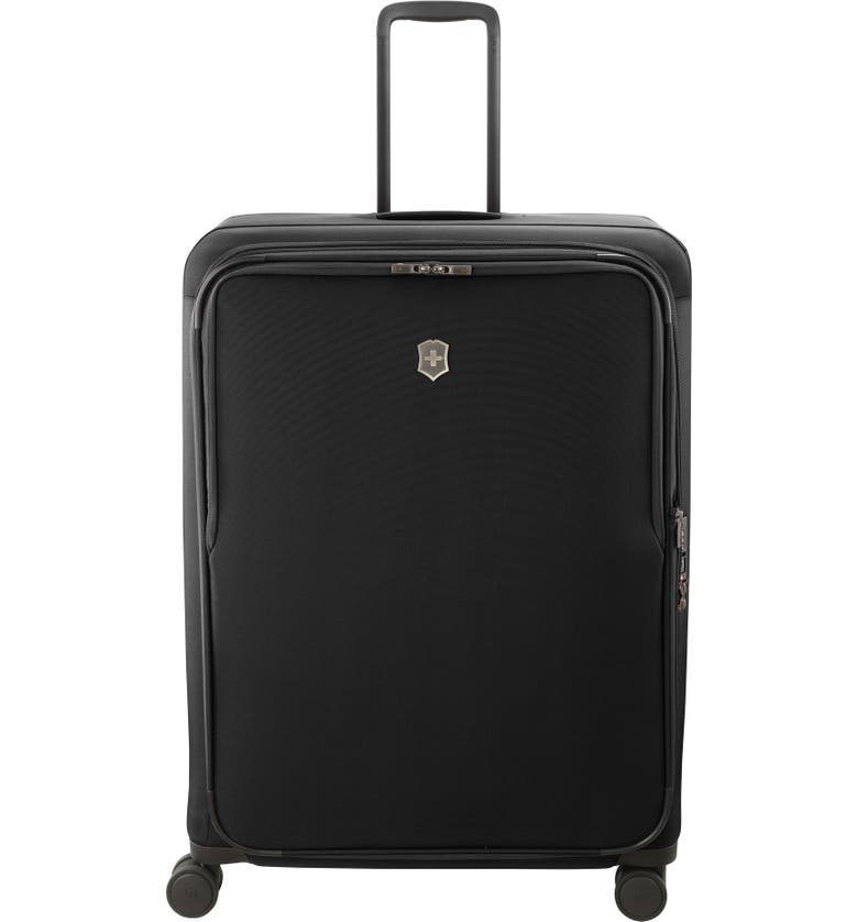 VICTORINOX SWISS ARMY<SUP>®</SUP> Connex Extra Large 31-Inch Spinner Packing Case, Main, color, BLACK