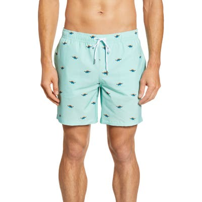 Bonobos Banzai 7-Inch E-Waist Swim Trunks, Green