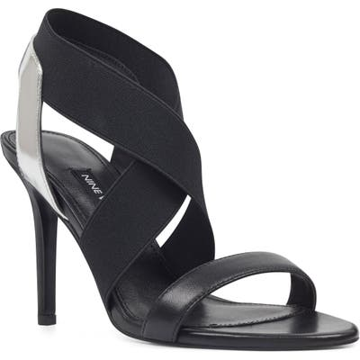 Nine West Maya Strappy Slingback Sandal, Black