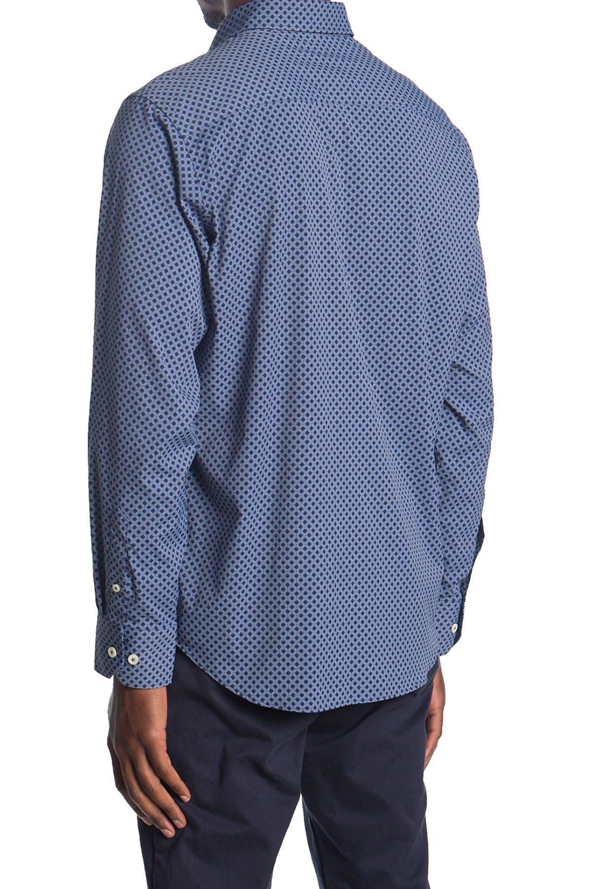 Image of Bugatchi Micro Print Regular Fit Shirt