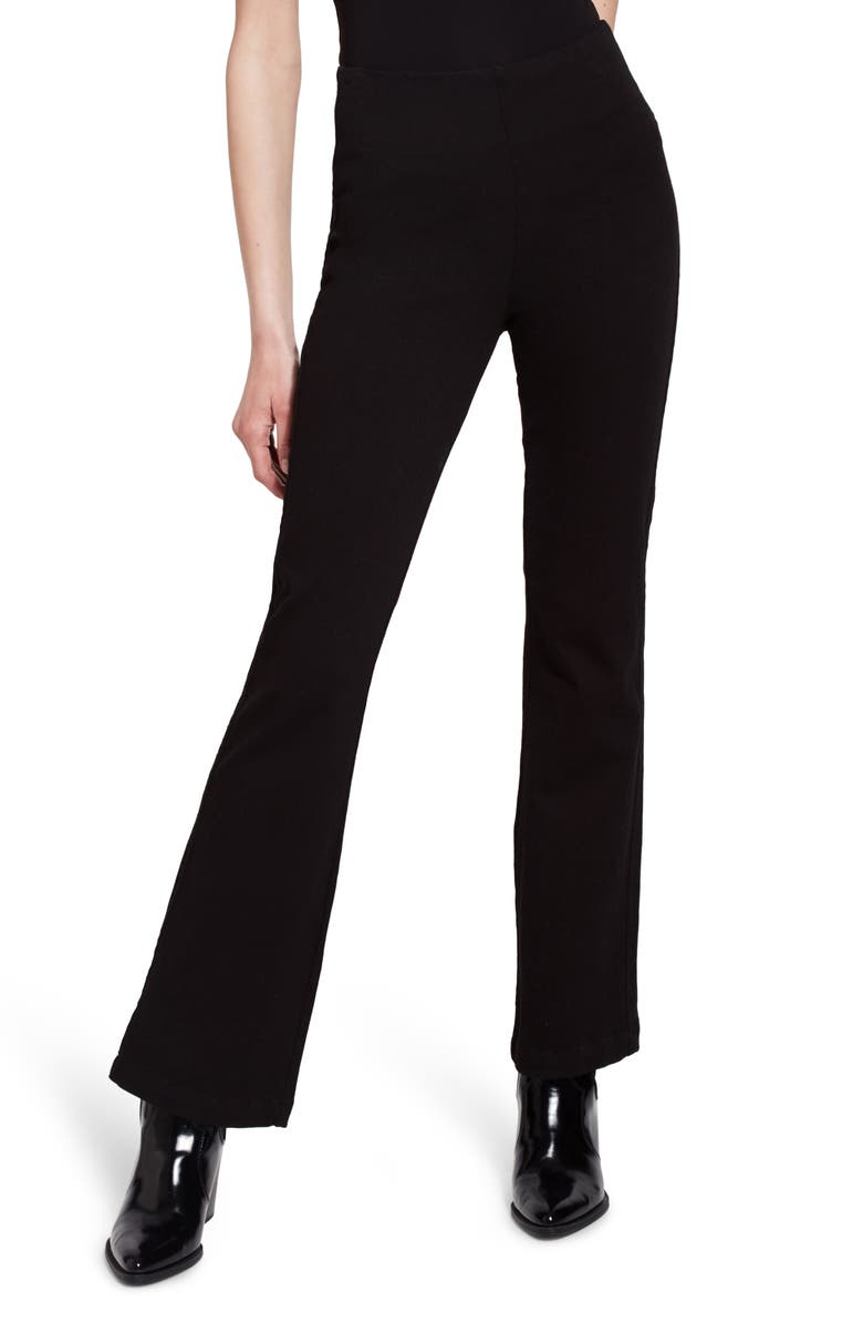 LYSSÉ High Waist Bootcut Pants, Main, color, BLACK