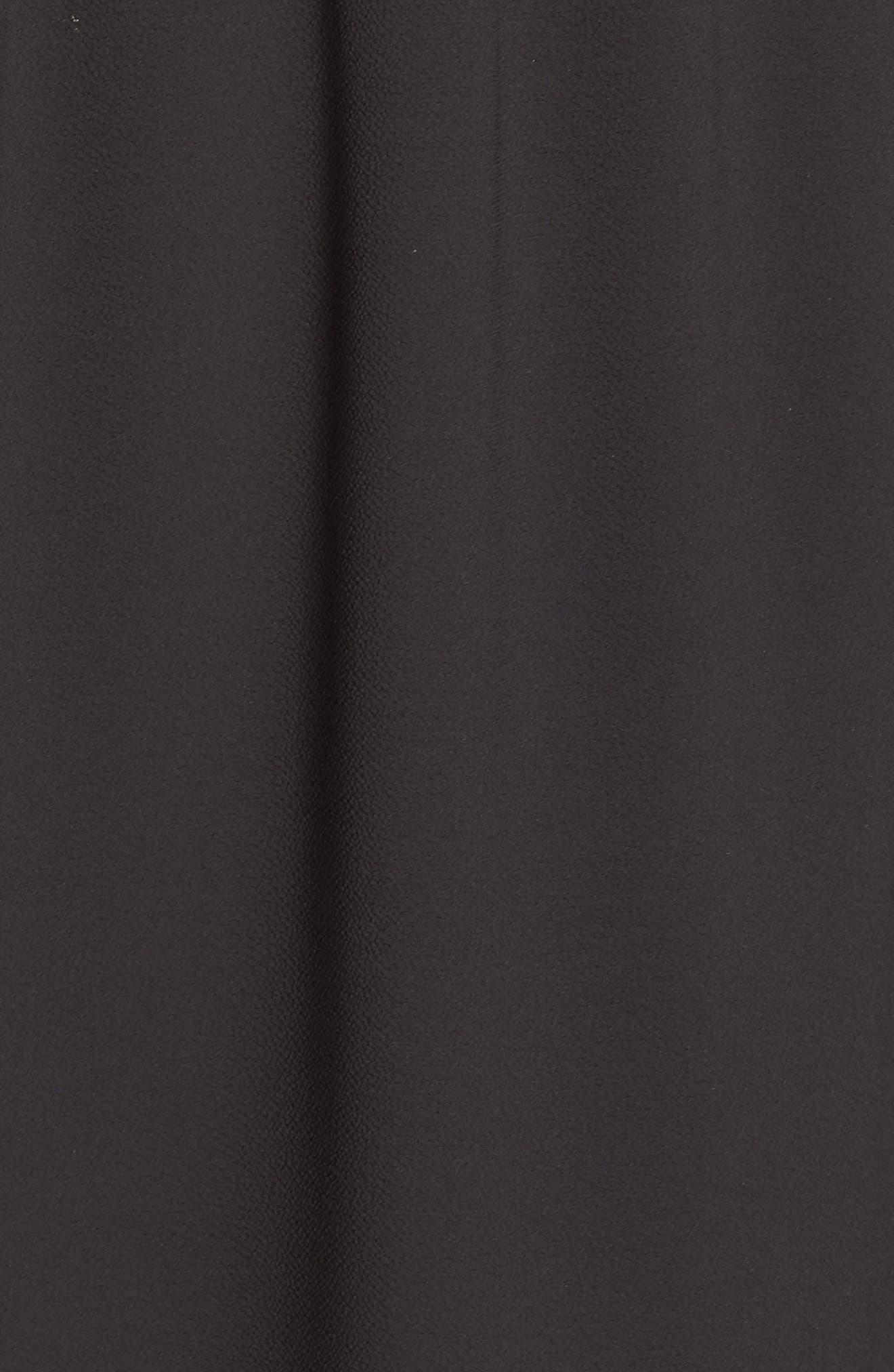 ,                             x Hi Sugarplum! Palm Springs Festival Maxi Dress,                             Alternate thumbnail 6, color,                             BLACK