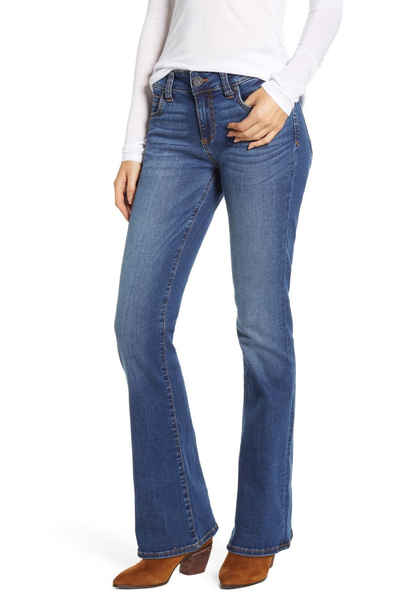 KUT FROM THE KLOTH Natalie Bootcut Jeans, Main, color, MUSIC