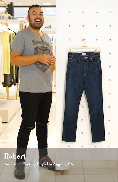 The Dazzler High Waist Ankle Straight Leg Jeans, sales video thumbnail