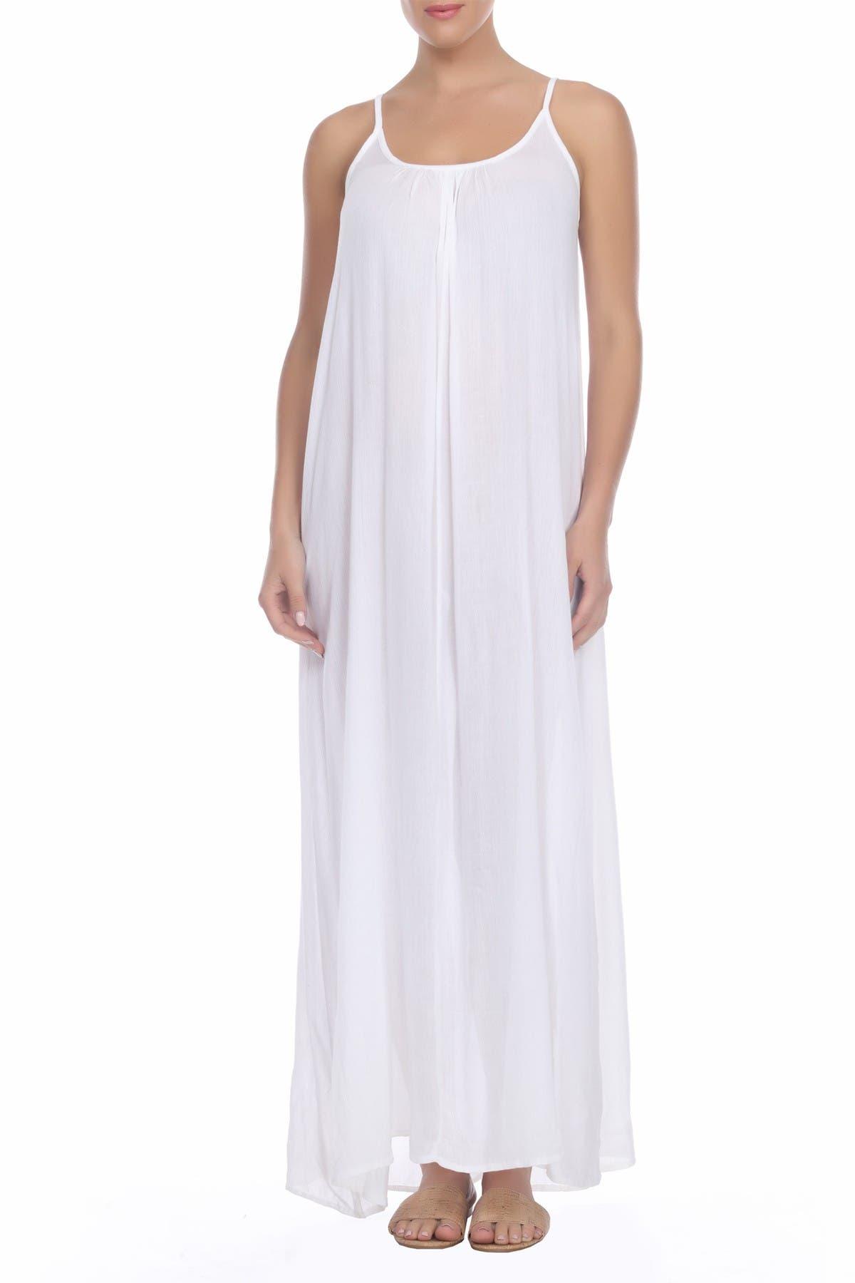 Image of BOHO ME Criss Cross Back Maxi Dress