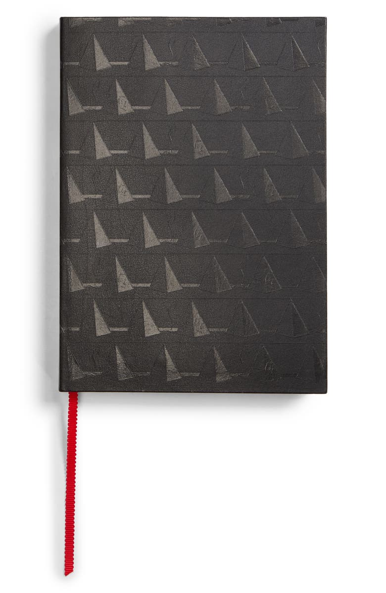 CHRISTIAN LOUBOUTIN Pyramid Notebook, Main, color, BLACK MULTI