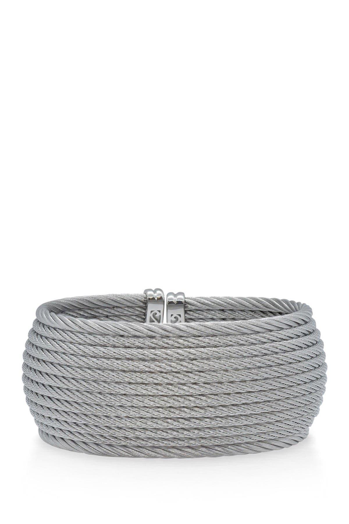 Image of ALOR Multi-Row Twist Cuff Bracelet