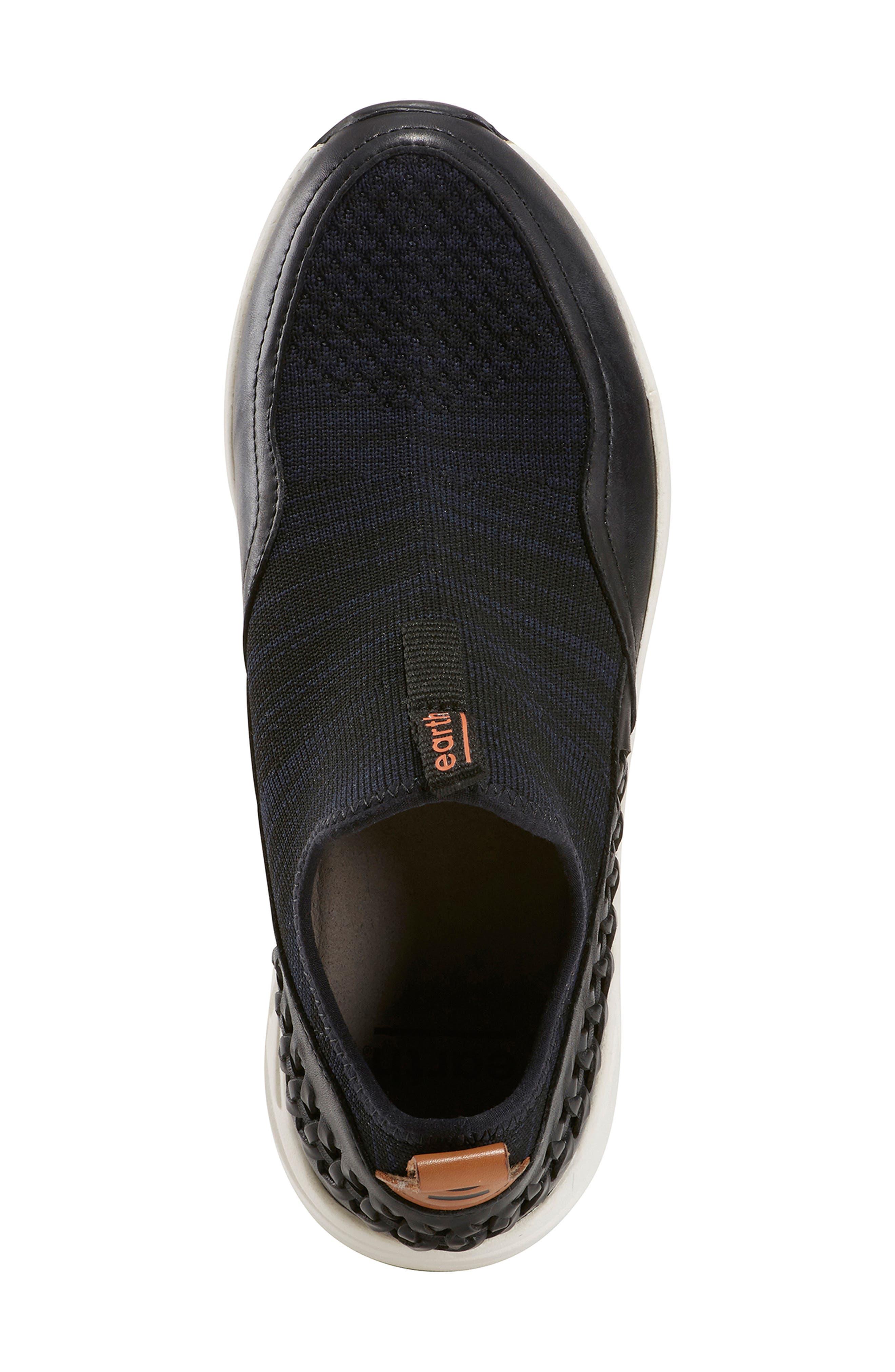 ,                             Ramble Sneaker,                             Alternate thumbnail 5, color,                             BLACK LEATHER