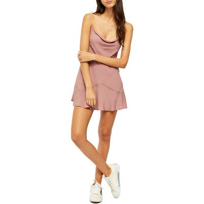 Free People Forever Field Minidress, Pink