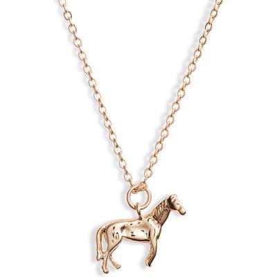 Ten79La Horse Charm Necklace