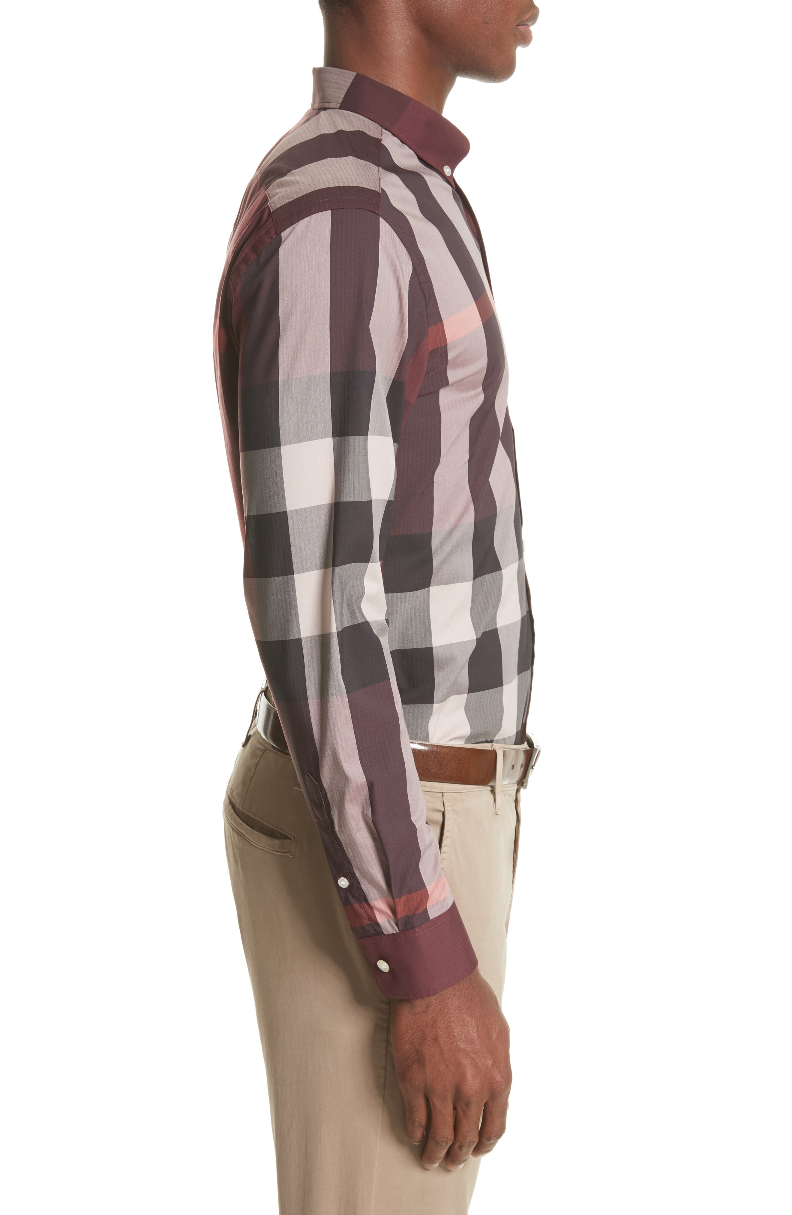 ,                             Thornaby Slim Fit Plaid Sport Shirt,                             Alternate thumbnail 58, color,                             936