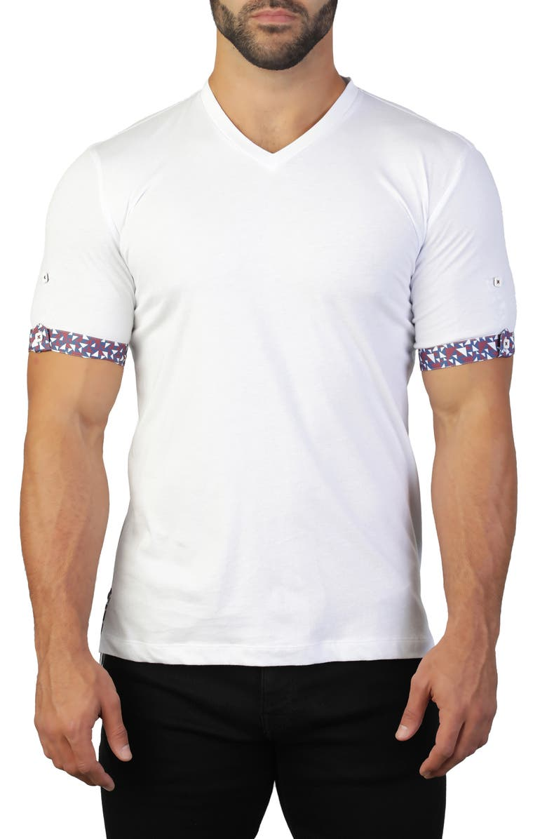 Maceoo Vivaldi V Neck T Shirt