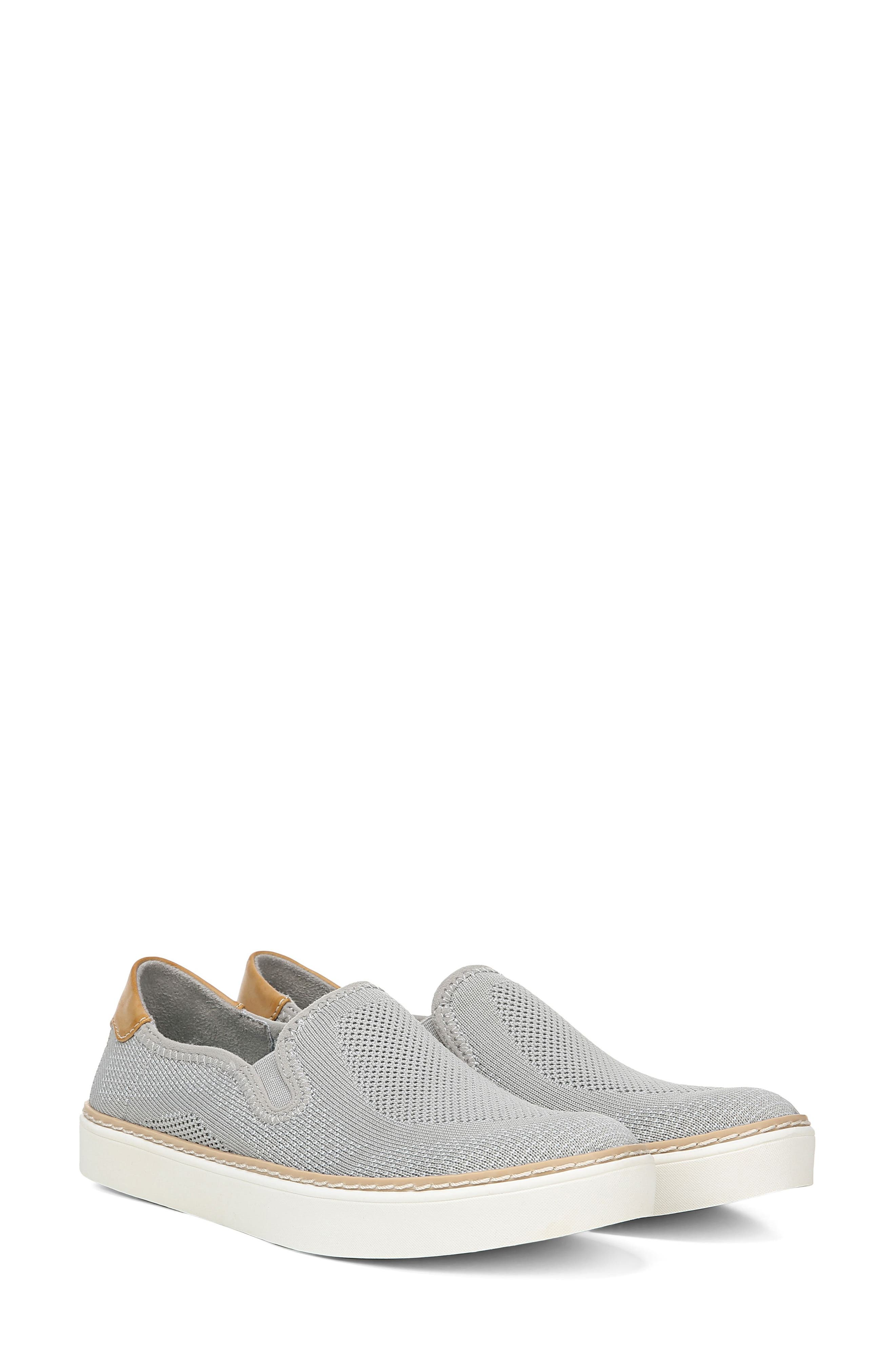 ,                             Madi Slip-On Sneaker,                             Alternate thumbnail 8, color,                             GREY KNIT FABRIC