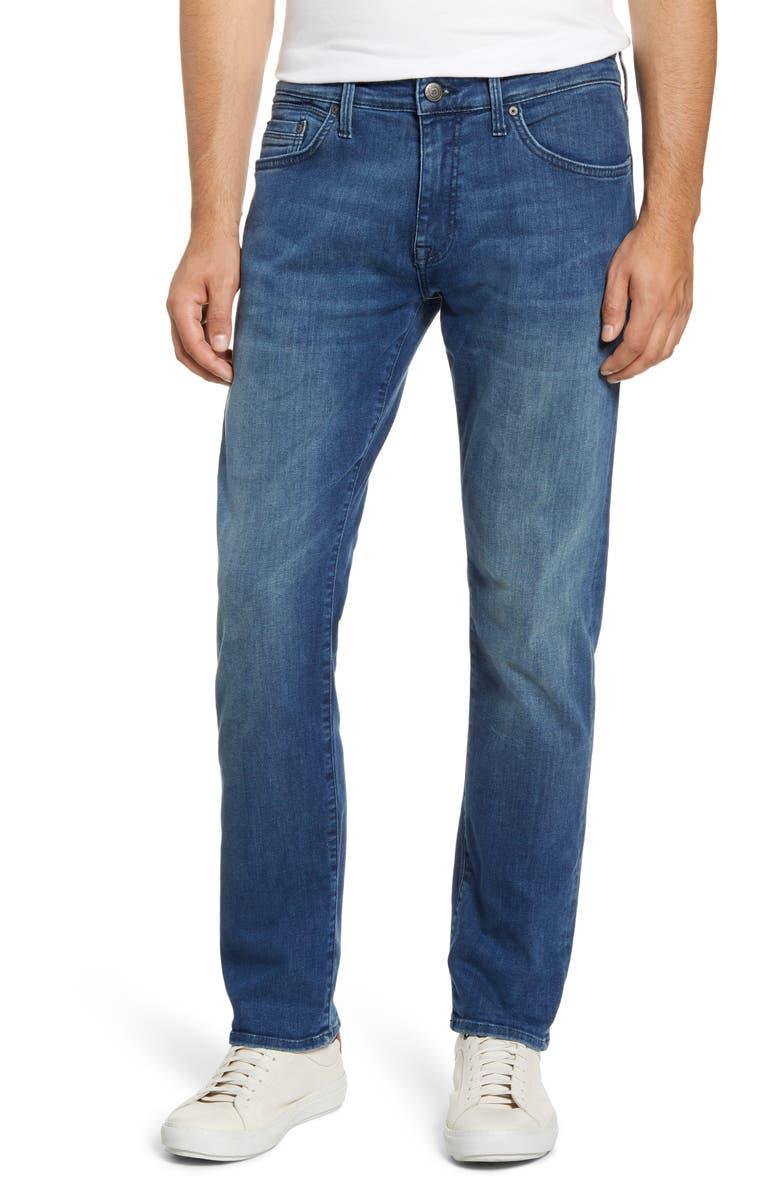 MAVI JEANS Marcus Slim Straight Leg Jeans, Main, color, 420