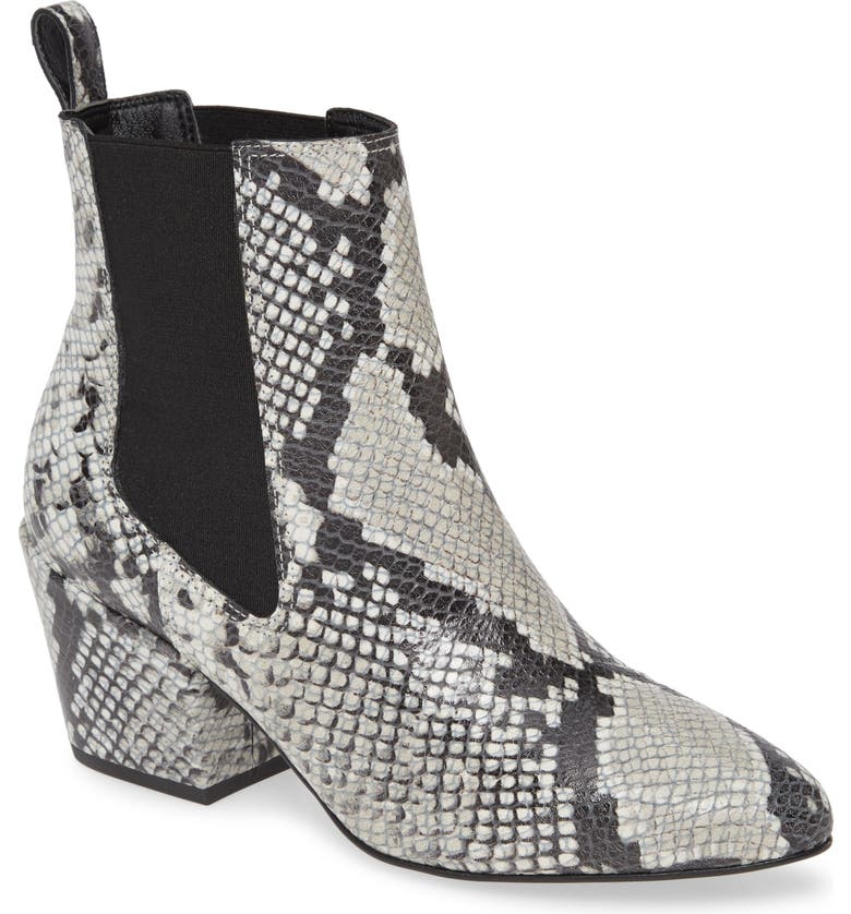 MATISSE Morgan Snake Embossed Boot, Main, color, GREY SNAKE PRINT LEATHER
