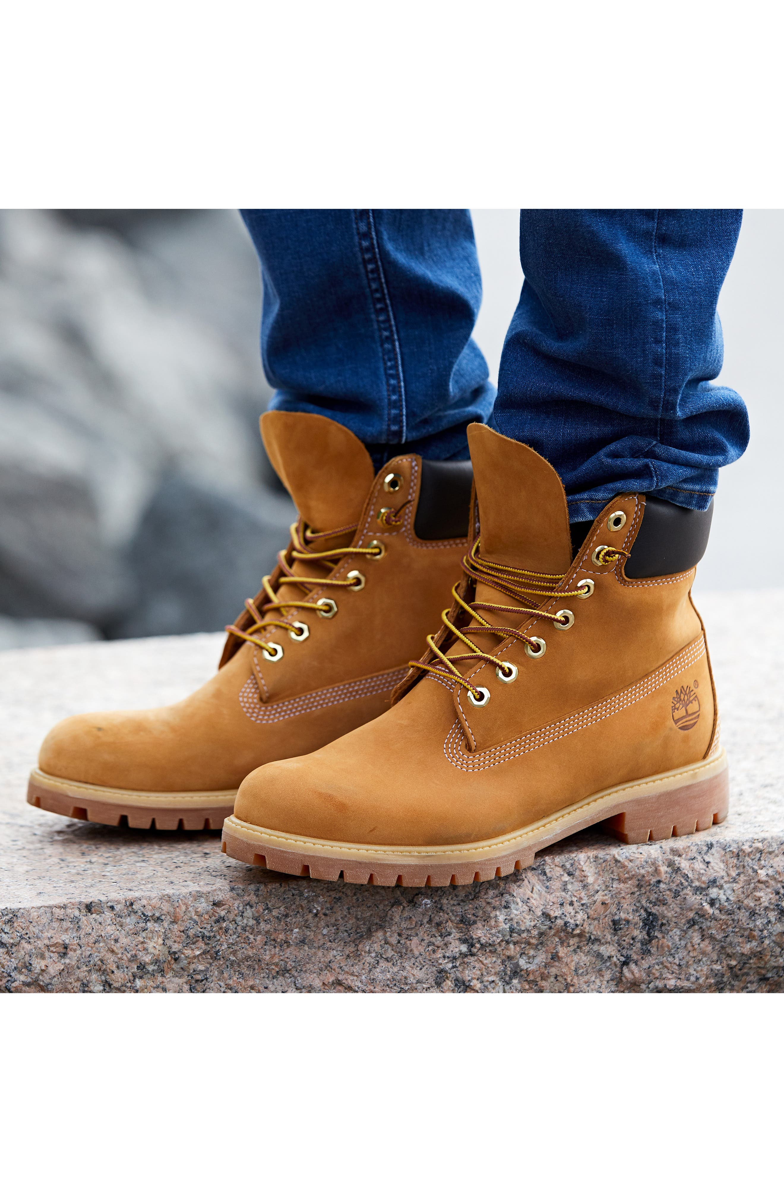 ,                             Six Inch Classic Waterproof Boots Series - Premium Waterproof Boot,                             Alternate thumbnail 11, color,                             WHEAT