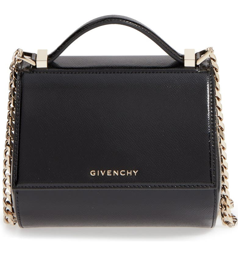 0ca1a6418d Givenchy 'Mini Pandora Box' Leather Shoulder Bag | Nordstrom