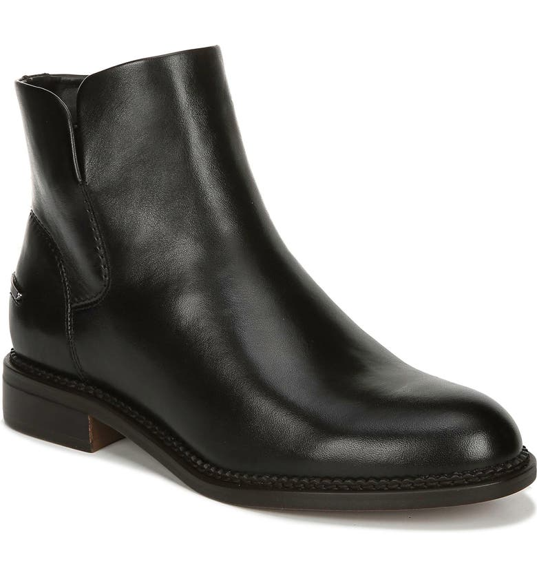 FRANCO SARTO Happily Boot, Main, color, BLACK LEATHER