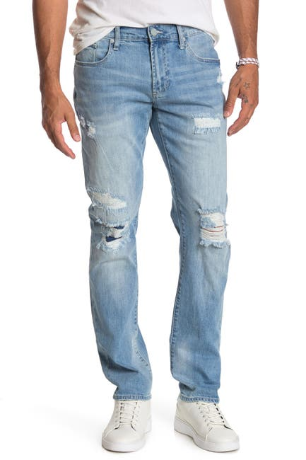 Image of Articles of Society Crosby Slim Straight Distressed Jeans