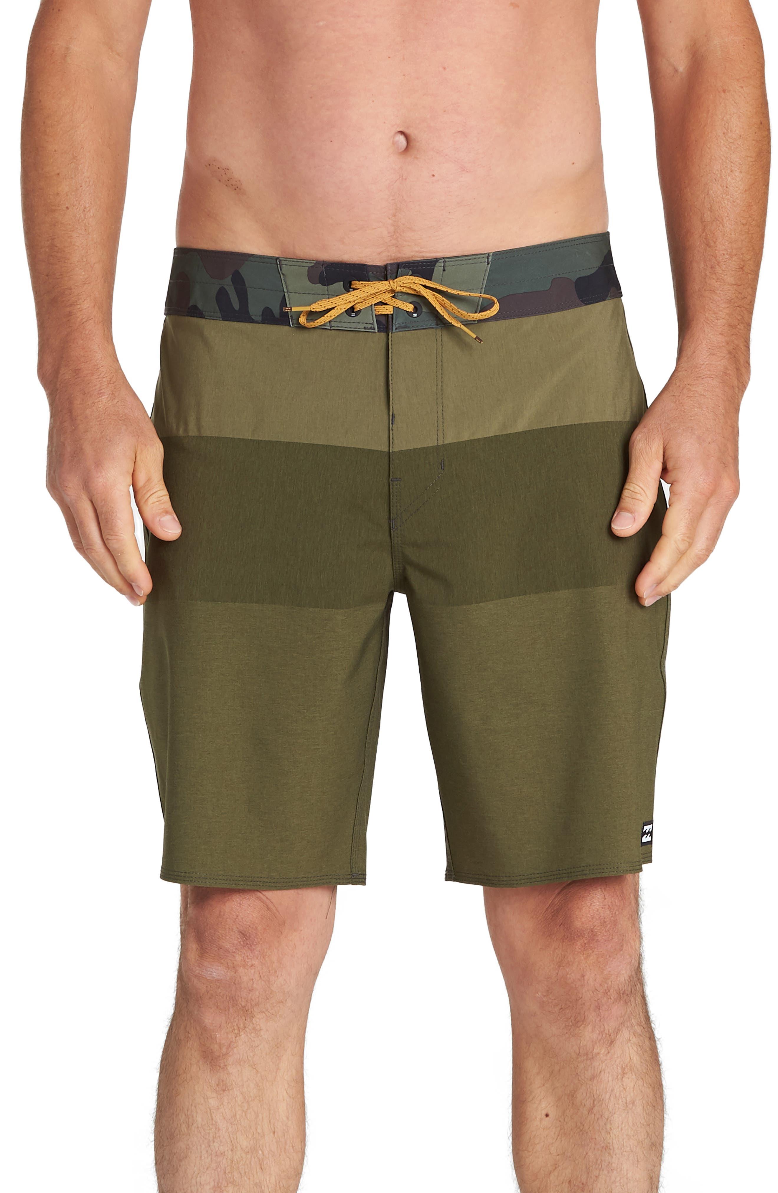 Billabong Tribong Airlite Board Shorts, Green