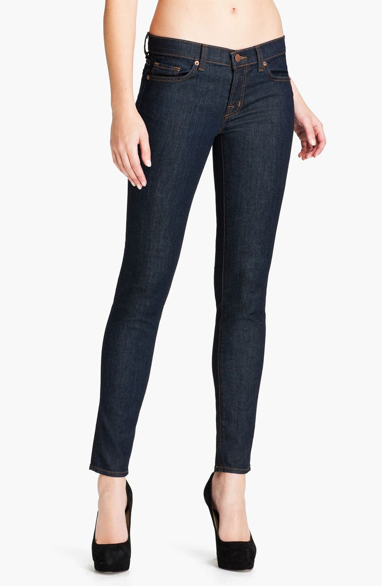 J BRAND Stretch Denim Skinny Jeans, Main, color, 401