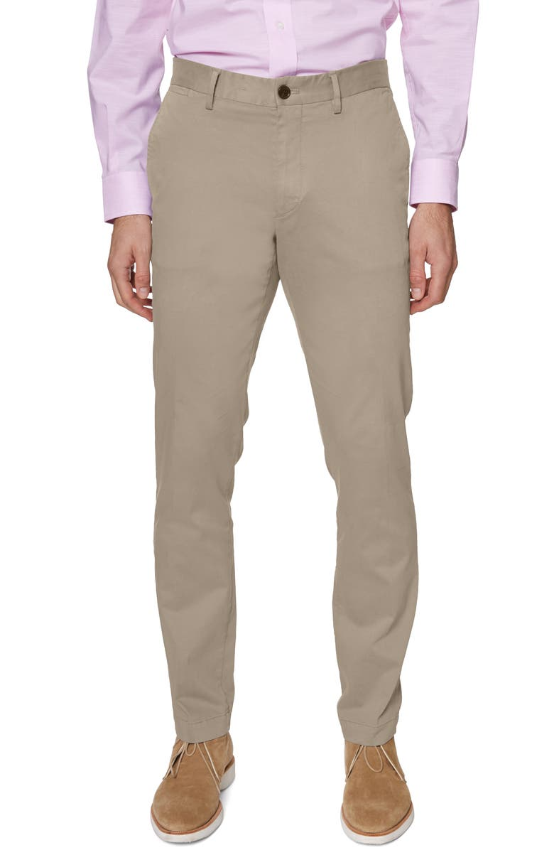 HICKEY FREEMAN Core Dress Pants, Main, color, TAN
