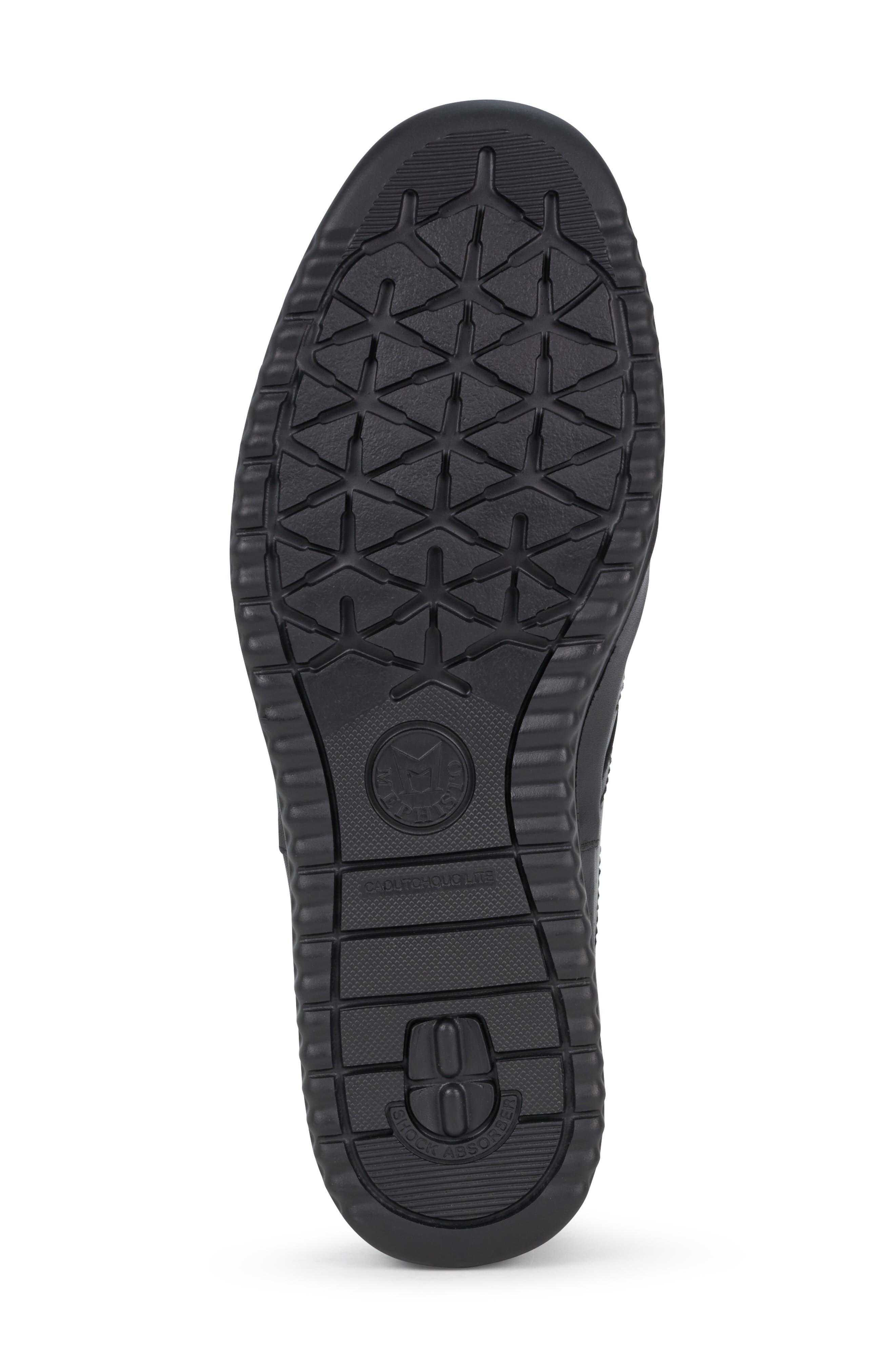 ,                             Tomy Sneaker,                             Alternate thumbnail 6, color,                             BLACK LEATHER