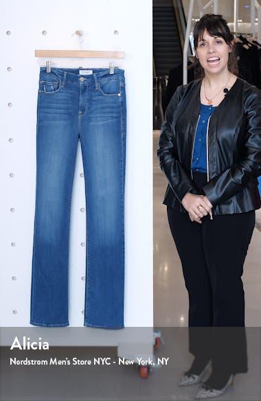 Le Mini High Waist Bootcut Jeans, sales video thumbnail
