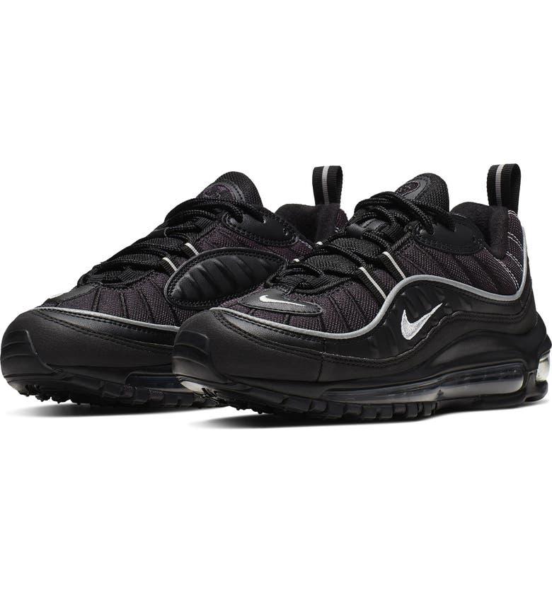 NIKE Air Max 98 BG Sneaker, Main, color, 004