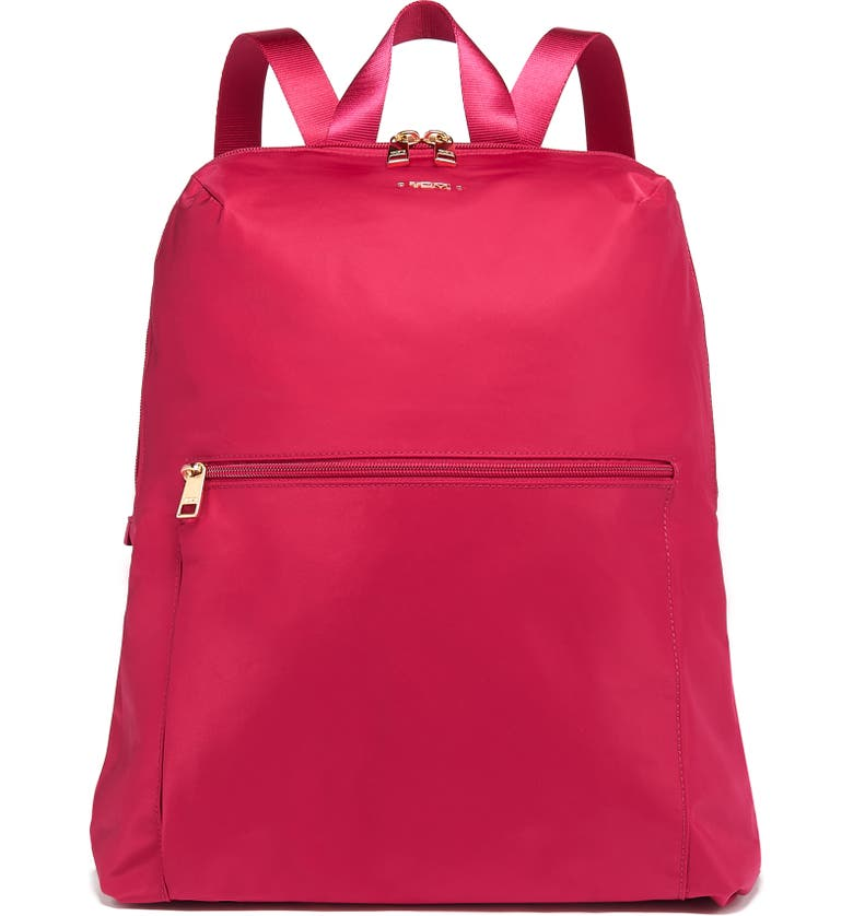 TUMI Voyageur - Just in Case Nylon Travel Backpack, Main, color, RASPBERRY
