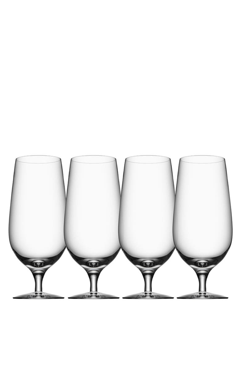 ORREFORS Lager Glasses, Main, color, WHITE
