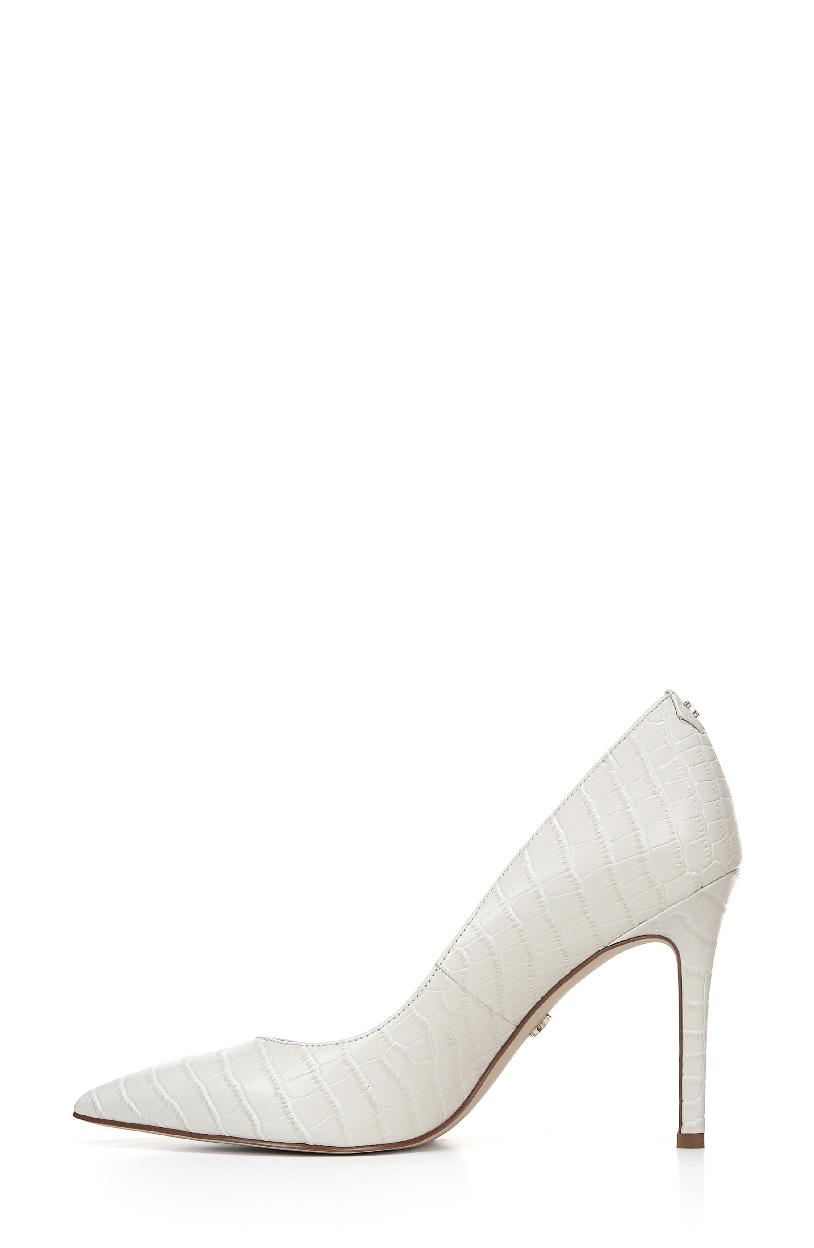 ,                             Hazel Pointy Toe Pump,                             Alternate thumbnail 8, color,                             MODERN IVORY LEATHER