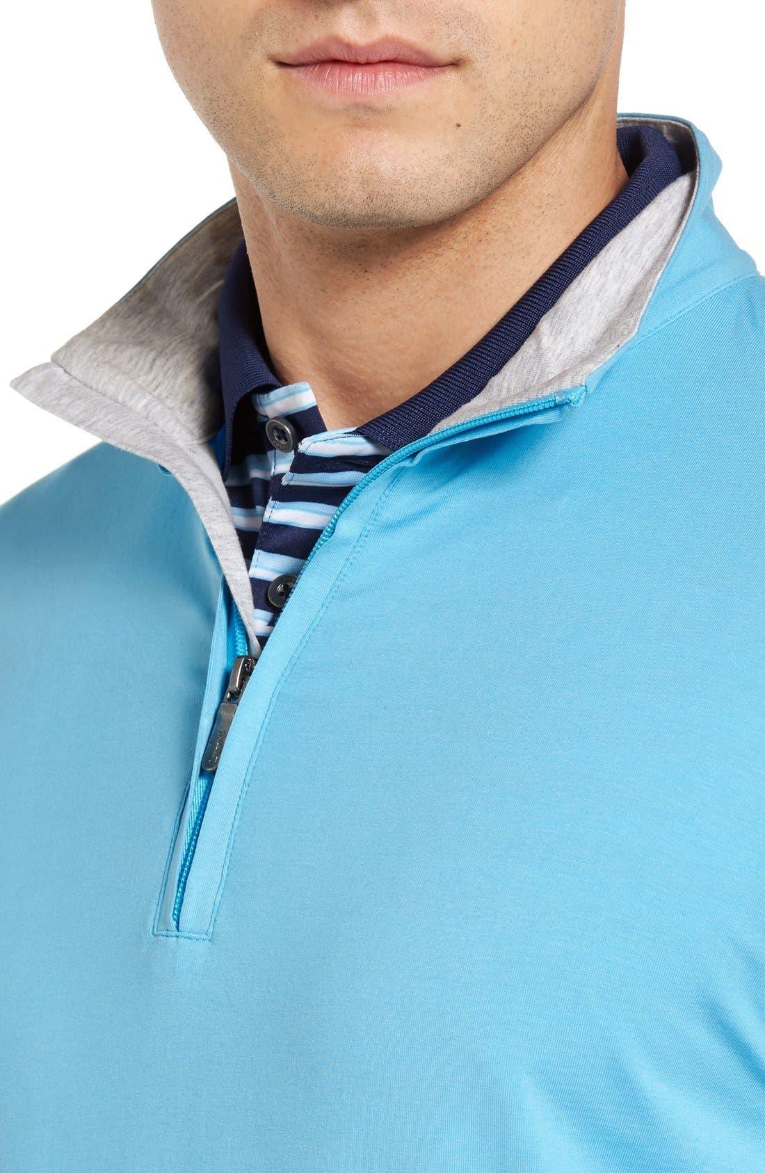 ,                             PTO Liquid Stretch Quarter Zip Pullover,                             Alternate thumbnail 45, color,                             402
