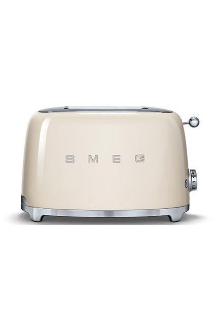 Image of SMEG '50s Retro 2-Slice Toaster - Red