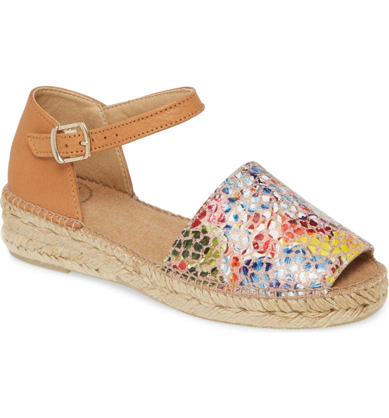 TONI PONS Elgin d'Orsay Espadrille, Main, color, TAUPE LEATHER