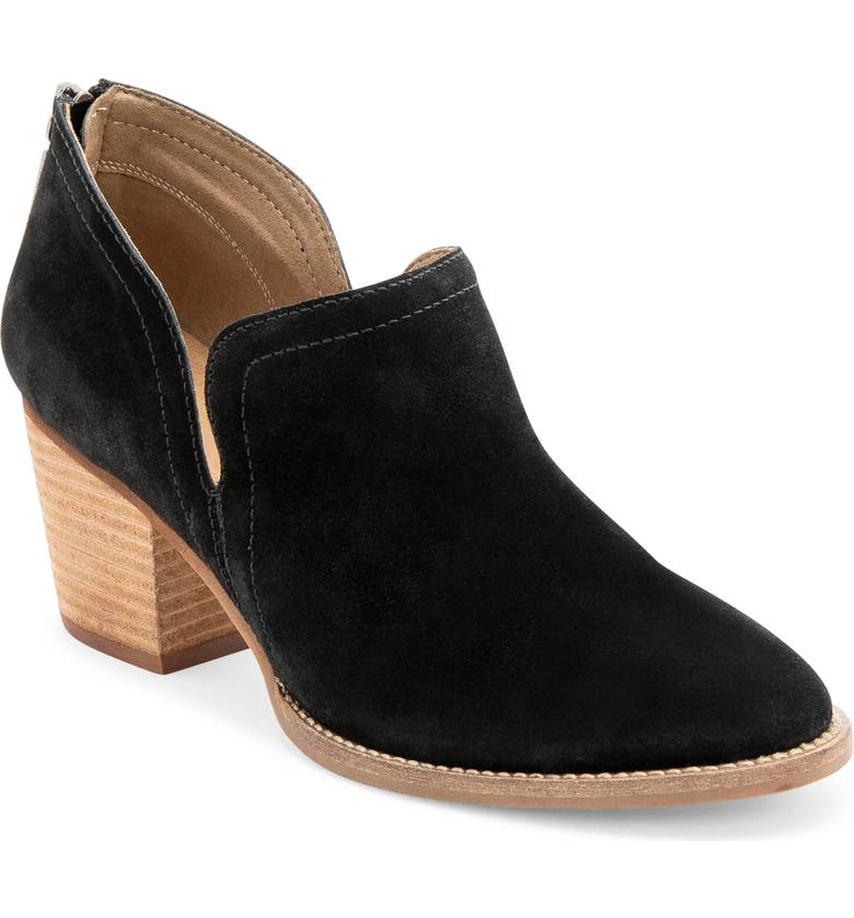 BLONDO Nelson Waterproof Ankle Boot, Main, color, BLACK SUEDE