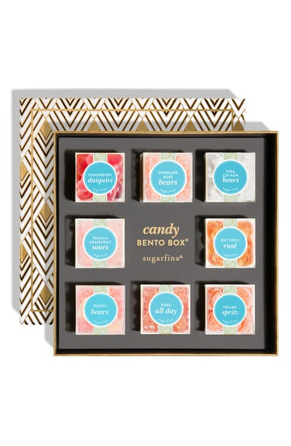 Image of SUGARFINA But First, Cocktails - 8-Piece Candy Bento Box Kit