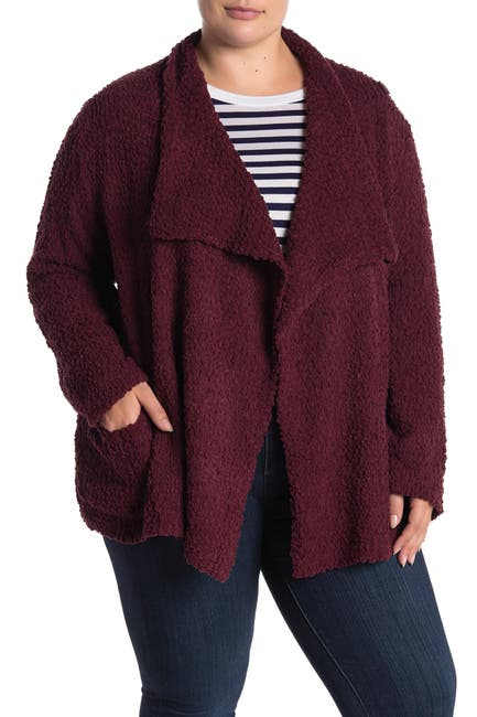 Image of Bobeau Popcorn Knit Cardigan