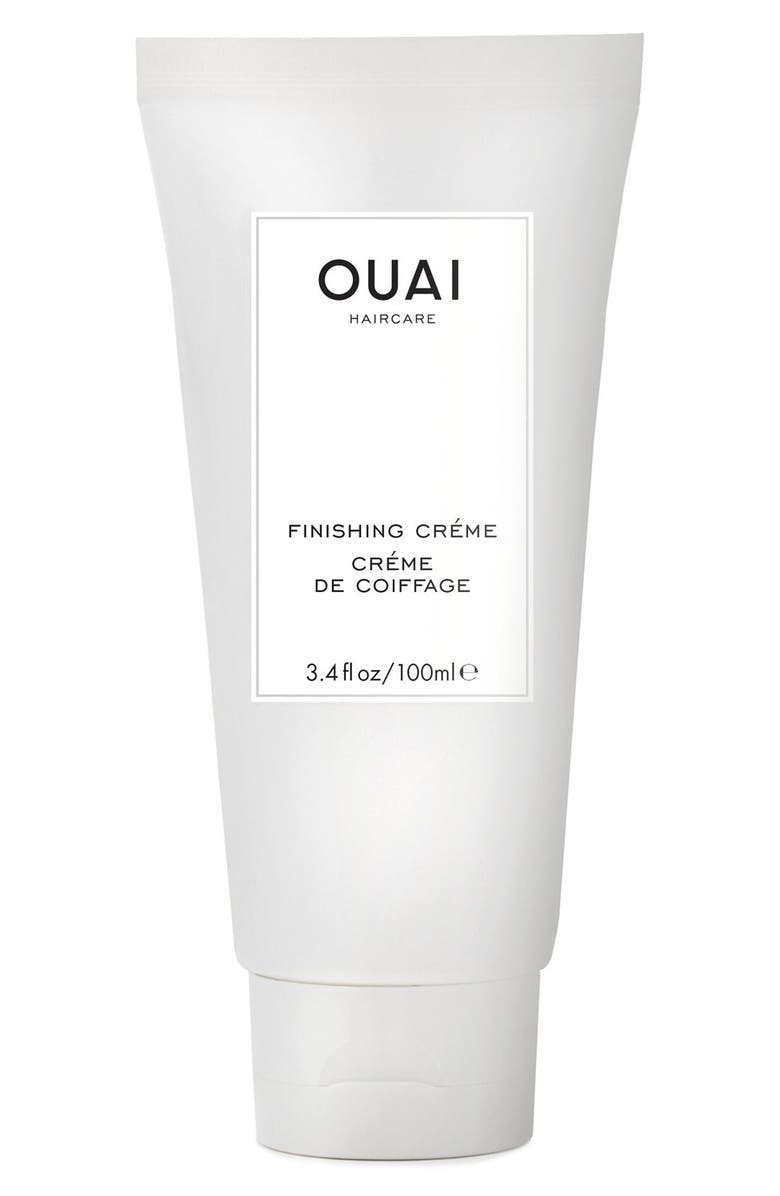 OUAI Finishing Crème, Main, color, NO COLOR