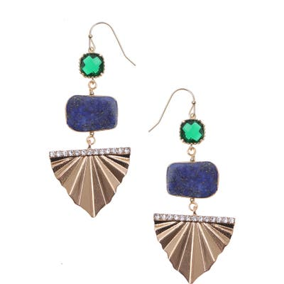 Nakamol Design Tiered Drop Earrings